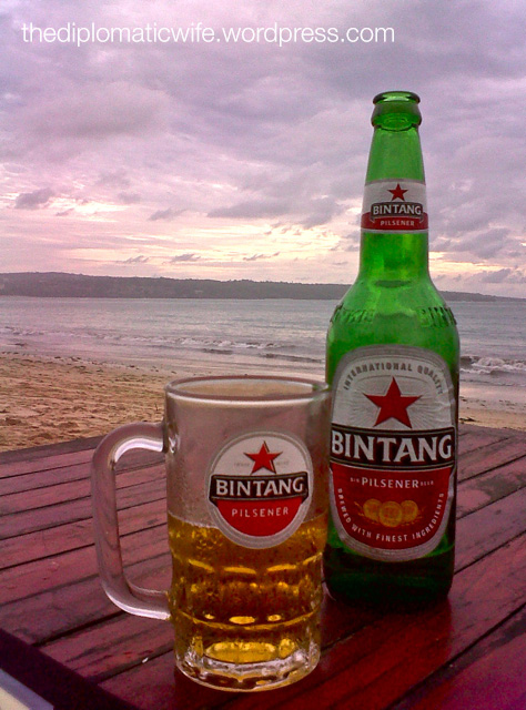 Big bottle of Beer Bintang