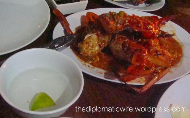 Ganesha Jimbaran Chili Crab