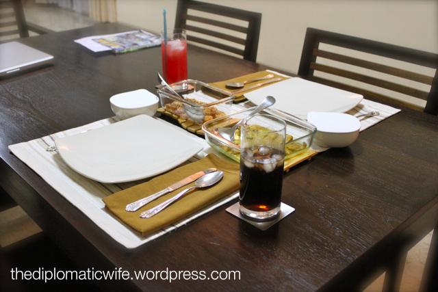 Bespoke dining set
