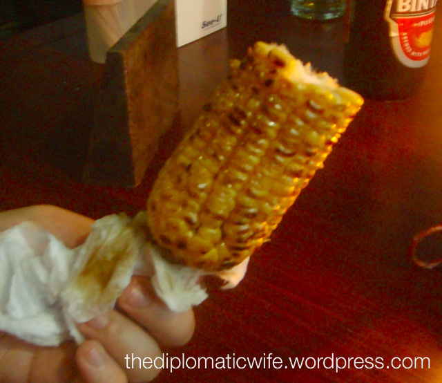 Sambal Butter Corn. Poom. (as my friend E would say) It was the