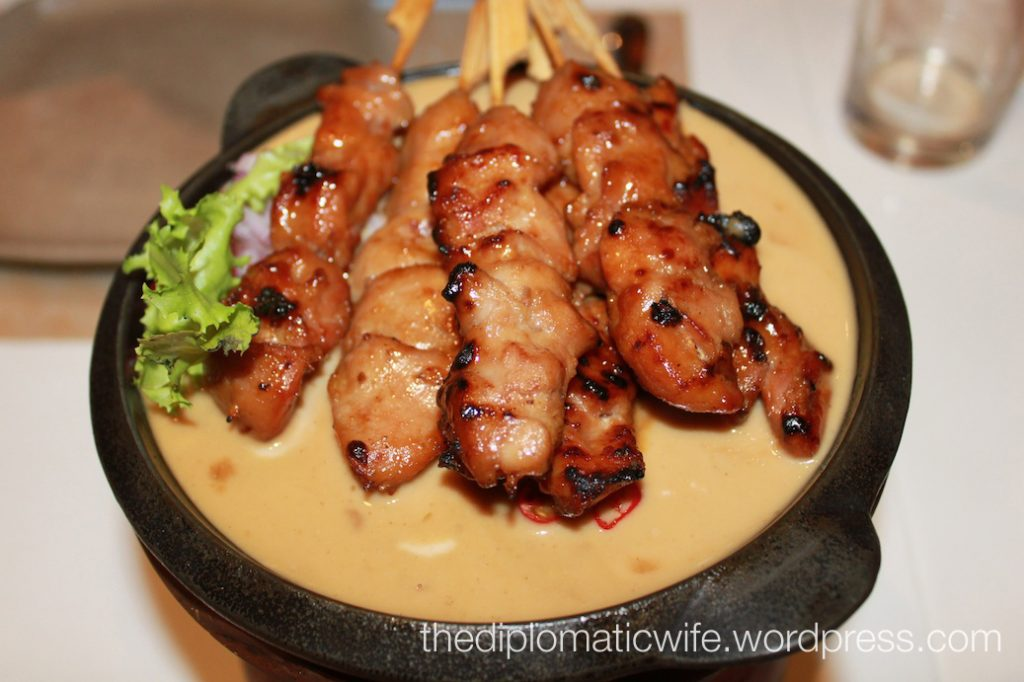 Sate Ayam Ponorogo (Daging) or sweet chicken sate (Rp 53,000). My friend it's really good, but I think I prefer the sweet & spicy one.
