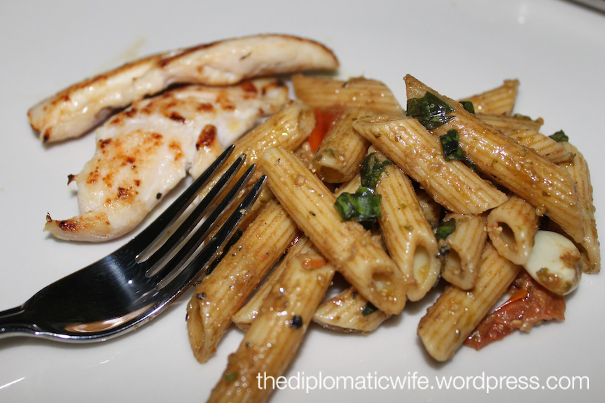 Grilled Chicken and Penne Salad