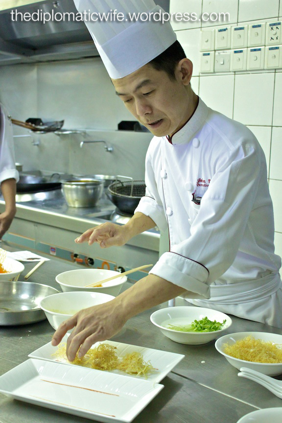 JW Marriott Jakarta Chinese Cooking Class