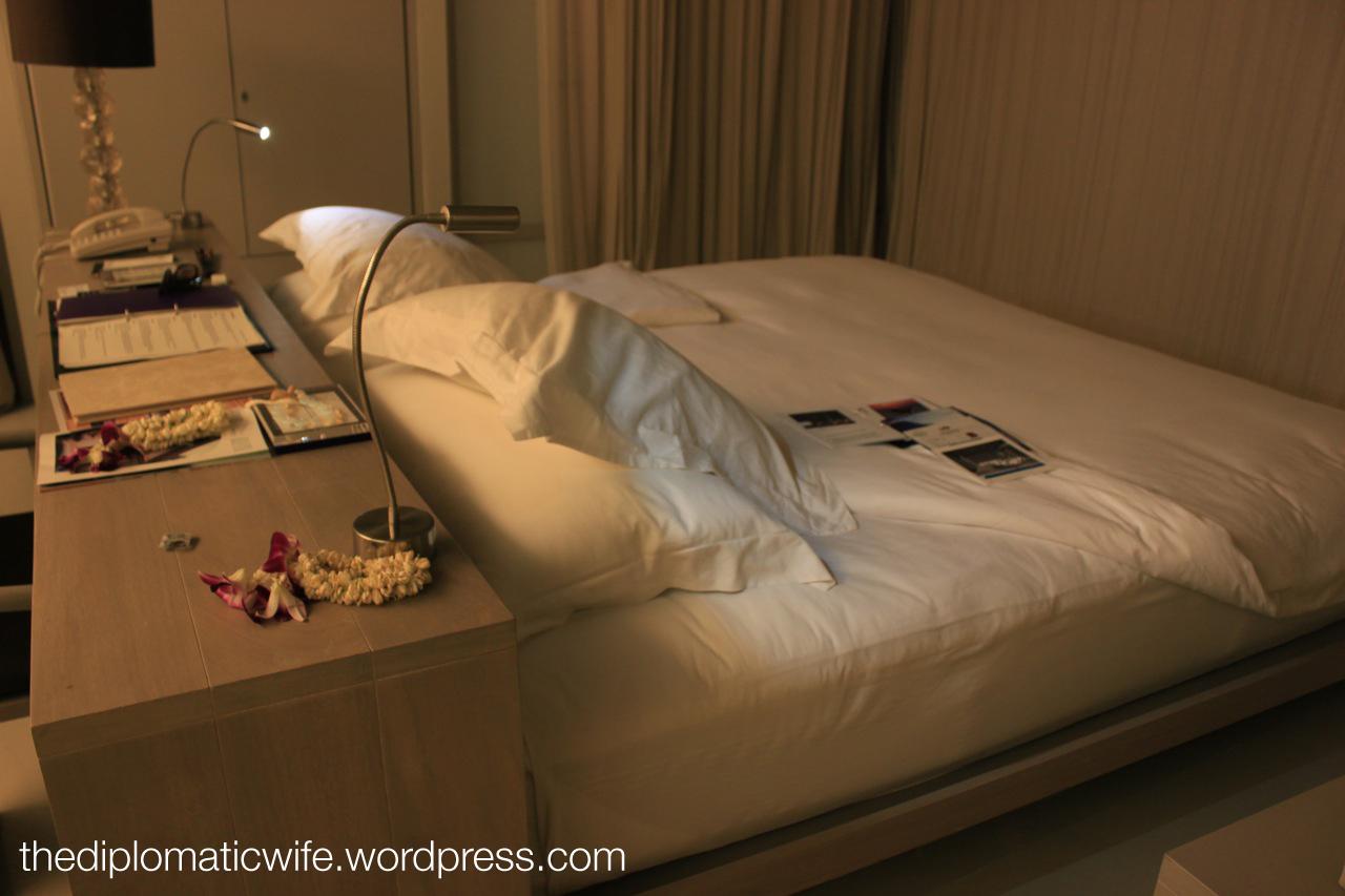 room turn-down service at Sala Phuket Thailand