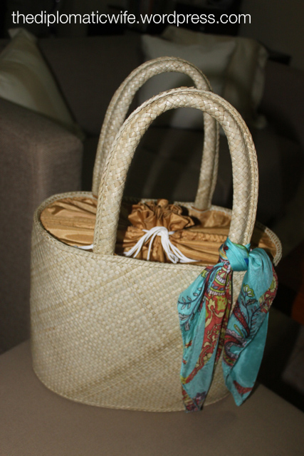 Finally the perfect beach bag made with native materials