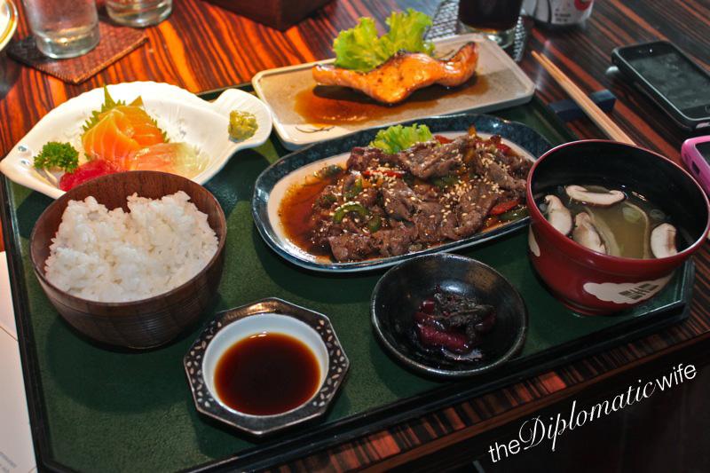 Lunch Meals at Sekitei - Dharmawangsa