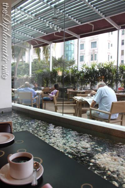 Breakfast buffet at Hotel Nikko Kuala Lumpur