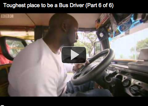 Toughest place to be a bus driver: Philippines