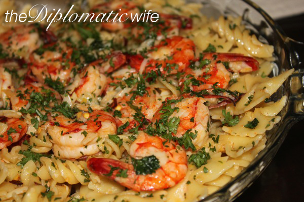 Mad Hungry Shrimp Scampi