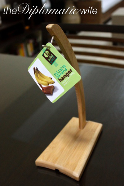 Folding Bamboo Banana Hanger