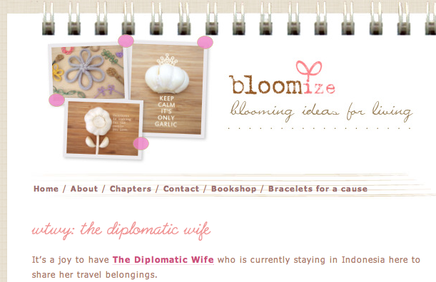 bloomize what travels with you
