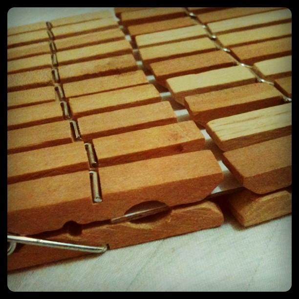 DIY Clothespins Labels