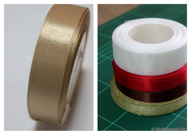 cheap ribbons by the roll from Mayestic market