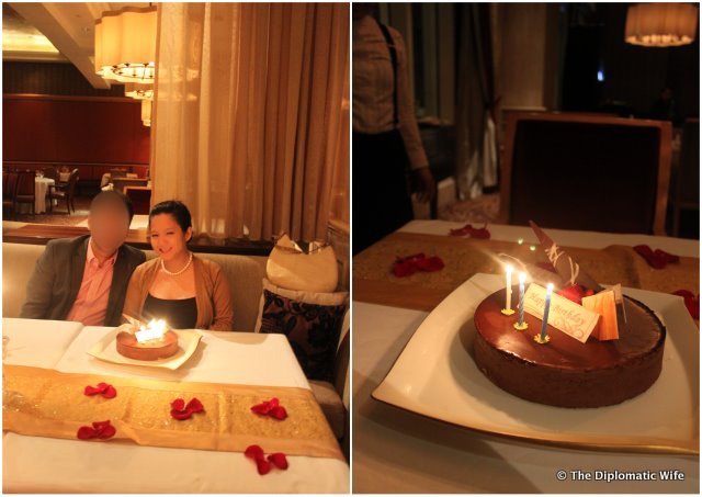 JAKARTA EATS: Romantic Birthday Dinner at The Ritz