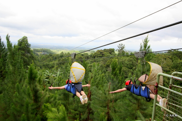 The  longest zipline in Asia