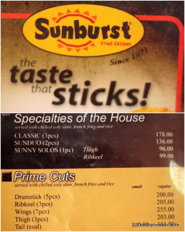 ILIGAN BITES: Original Sunburst Chicken