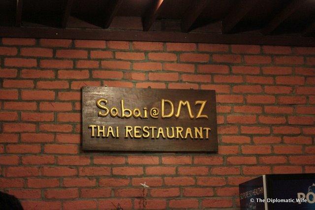 YANGON: Sabai DMZ Thai Restaurant