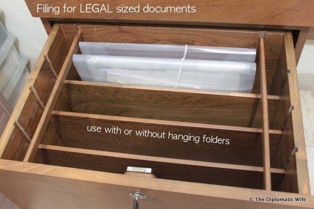 Bespoke Filing Cabinet and Folding Desk