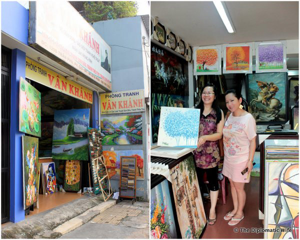 Where to Get Paintings at Local Prices in HCMC