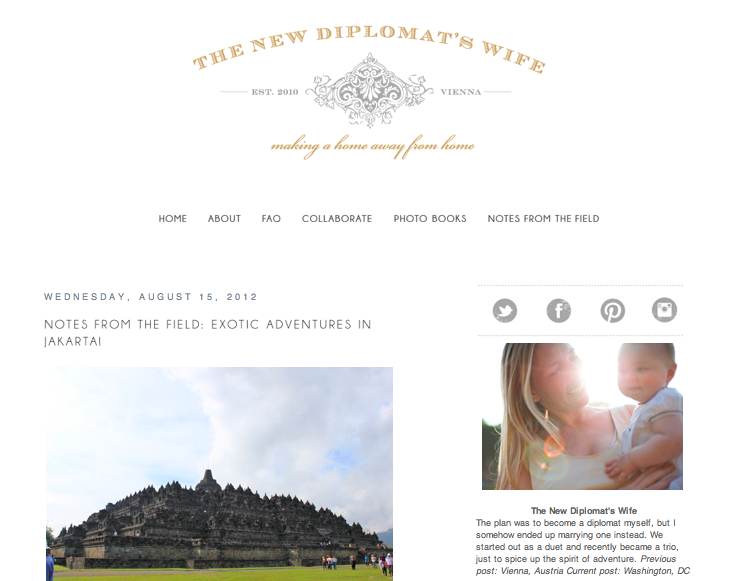 the diplomatic wife featured on the new diplomats wife