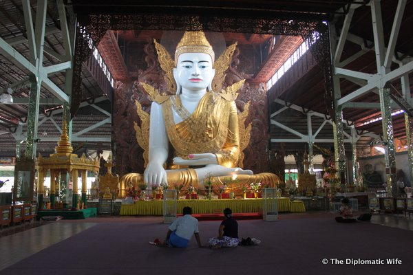 YANGON: Giant Sitting Buddha Pagoda