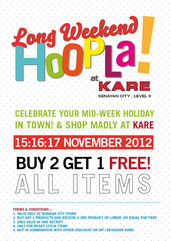 ANNOUNCEMENT: KARE Sale
