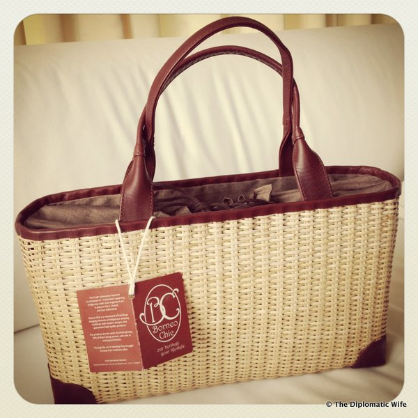 discounted Borneo Chic bag!