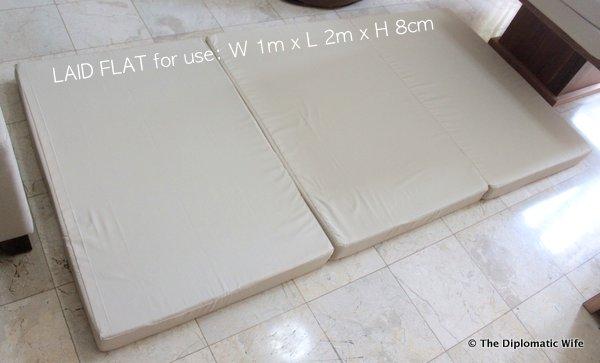 1-Hanidas Collection custom folding mattress