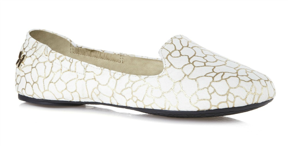 butterfly twists gabriella white crackled gold