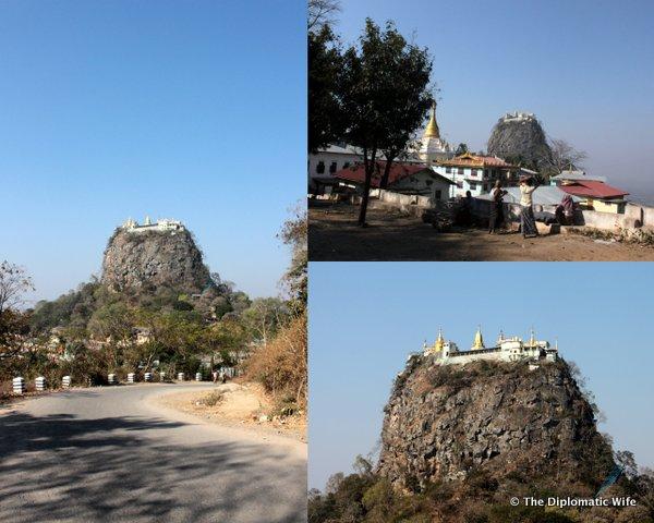 01-Mount Popa Taung Kalat Monastery bagan myanmar