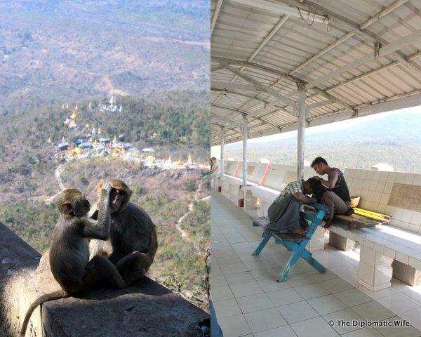 19-Mount Popa Taung Kalat Monastery bagan myanmar-018