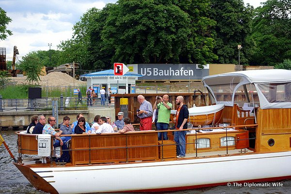 Berlin City Boat Tour