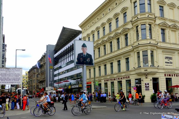 Berlin Germany Check Point Charlie