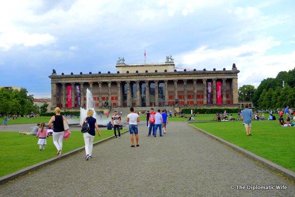 Berlin Lustgarten Altes Museum