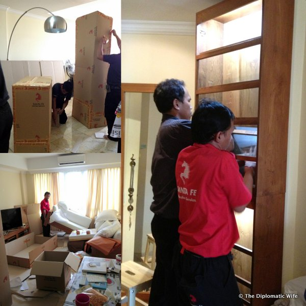 DiploHome pack out Jakarta santa fe