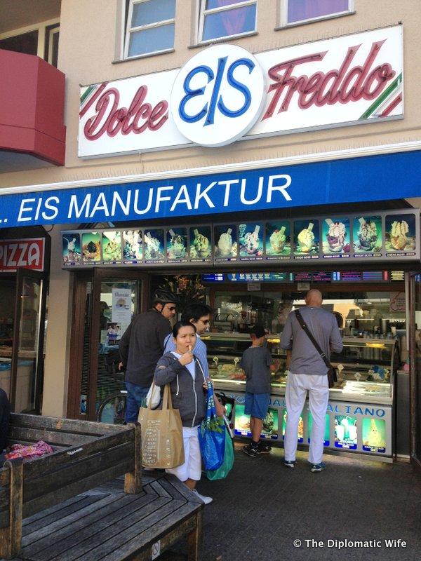 BERLIN BITES: Dolce Freddo Ice Cream Parlor
