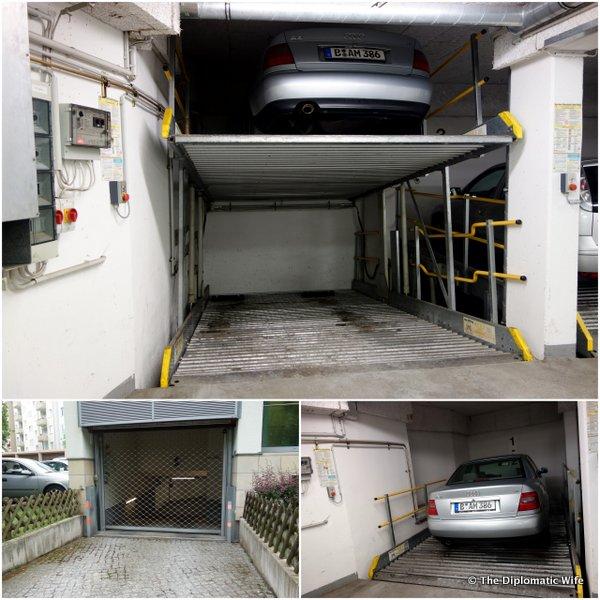 berlin flats apartments - parking