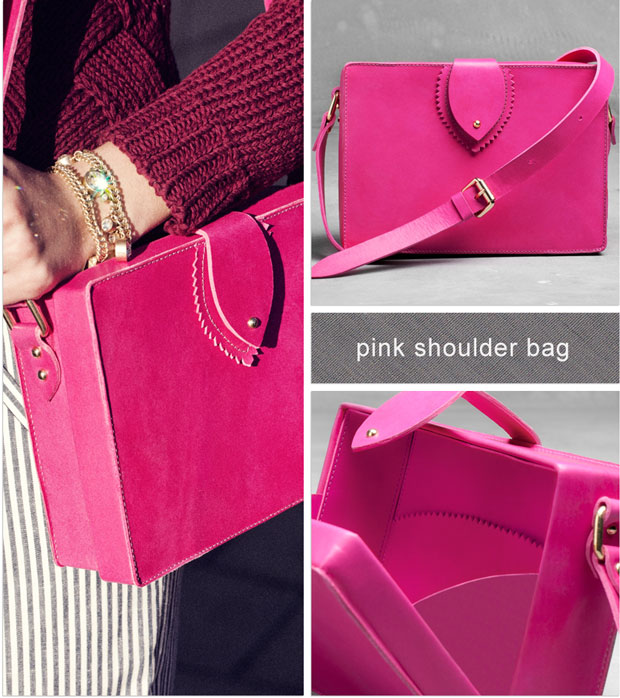 And other stories Pink-shoulder-bag