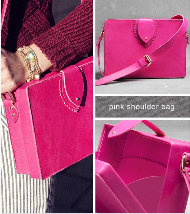 And other stories Pink-shoulder-bag