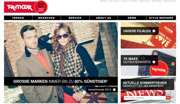 BERLIN FINDS: TK Maxx