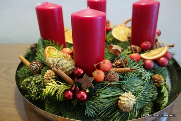 WIB advent wreath making jurgen herold