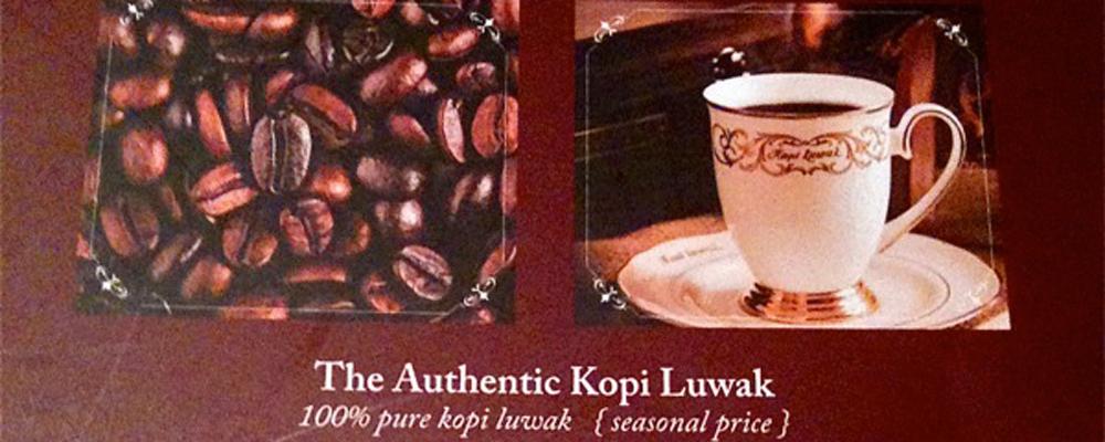 JAKARTA EATS: Kopi Luwak Cafe