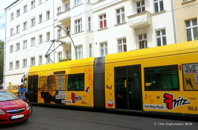berlin tram bvg