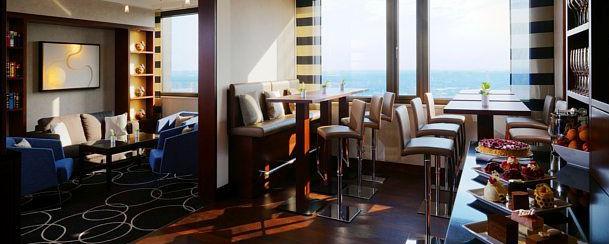 FRANKFURT BITES: Marriott Executive Lounge