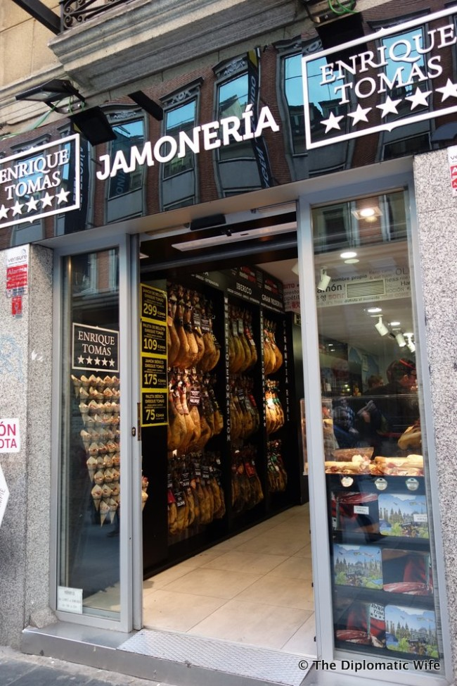 jamon madrid