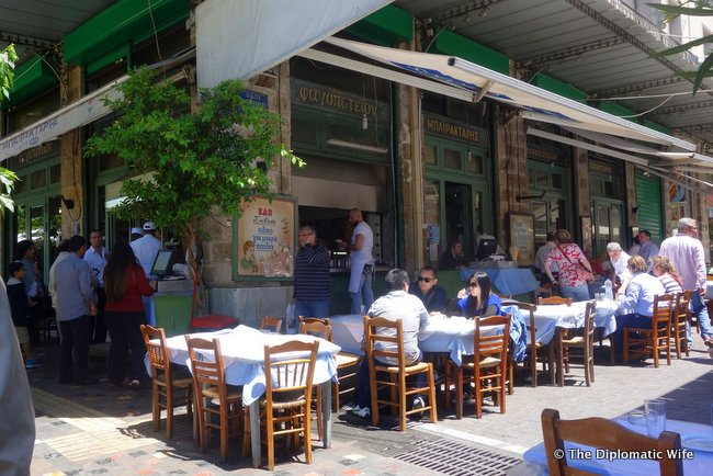 Bairaktaris restaurant athens greece