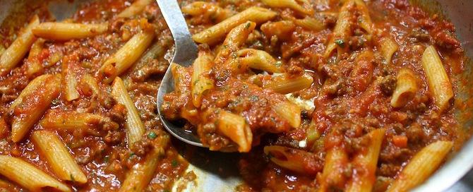Bolognese Pasta Sauce Recipe