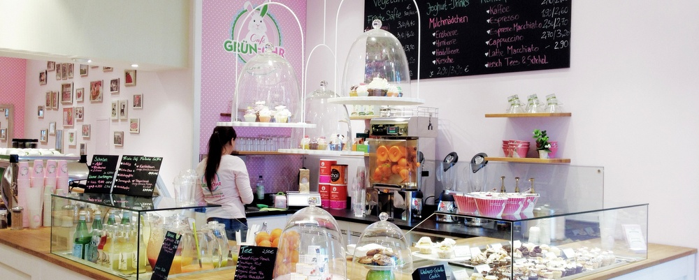 BERLIN BITES: Grün Ohr Vegetarian Cupcakes