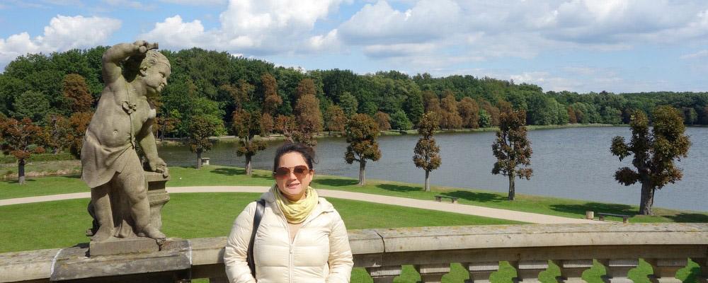 TRAVEL DIARIES: Lunch at Schloss Moritzburg