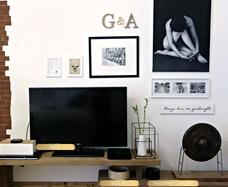 tv wall organize